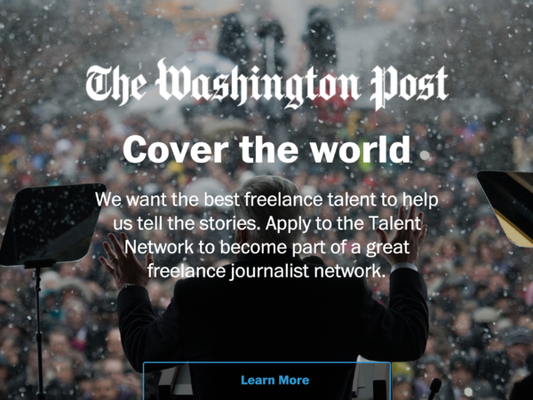 The Washington Post Talent Network
